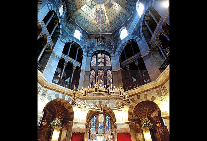 palatine chapel of charlemagne